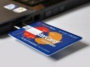 Флешка-кредитка