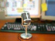 Ретро микрофон