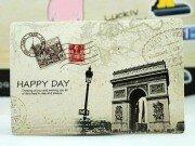 Открытка Happy day Paris