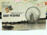 Открытка Best wishes London